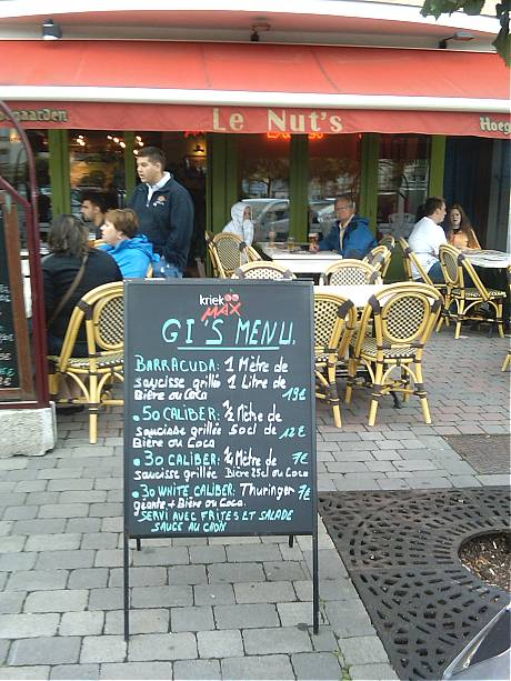 Le Nut's Bar in Bastogne.