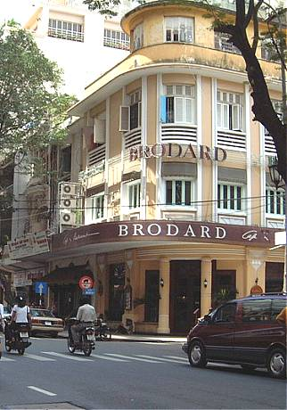 Cafe Brodard before Gloria Jean's Coffee