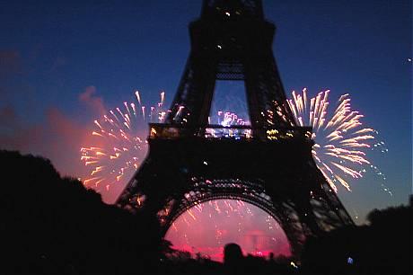 Eiffel Tower Bastille Day 2009