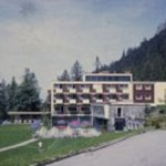 Alp Hotel Gaflei, Liechtenstein, summer of 1968.