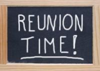 Reunion Time Sign