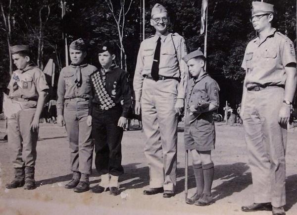 Boy Scout Troop 1, Saigon at 1959 Vietnamese National Jamboree.