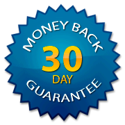 30 Money Back-blue