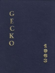 1963 Gecko Yearbook
